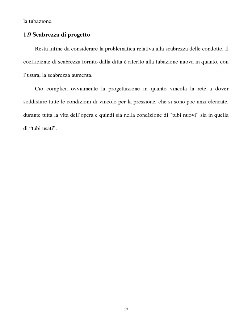 Anteprima della tesi: Calcolo delle reti idrauliche in pressione mediante una tecnica mista algoritmi genetici / metodo Gauss-Newton, Pagina 15