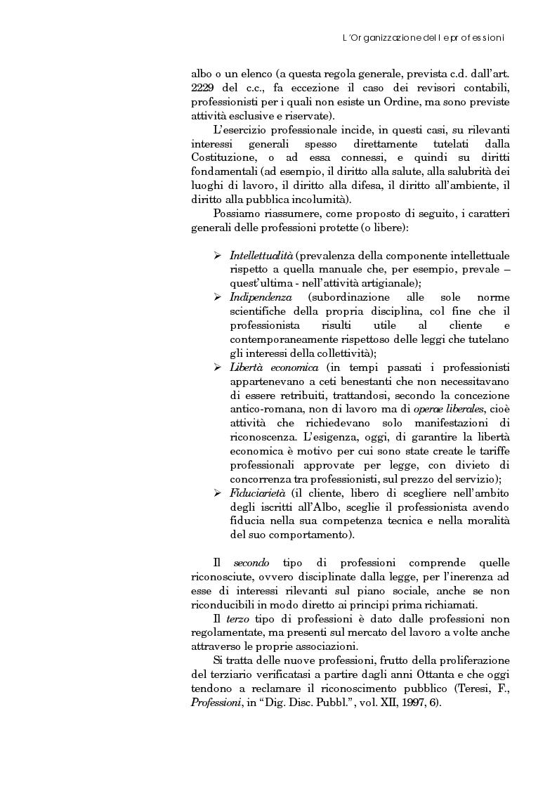 Anteprima della tesi: Riforma degli ordini e specificità degli architetti, Pagina 10