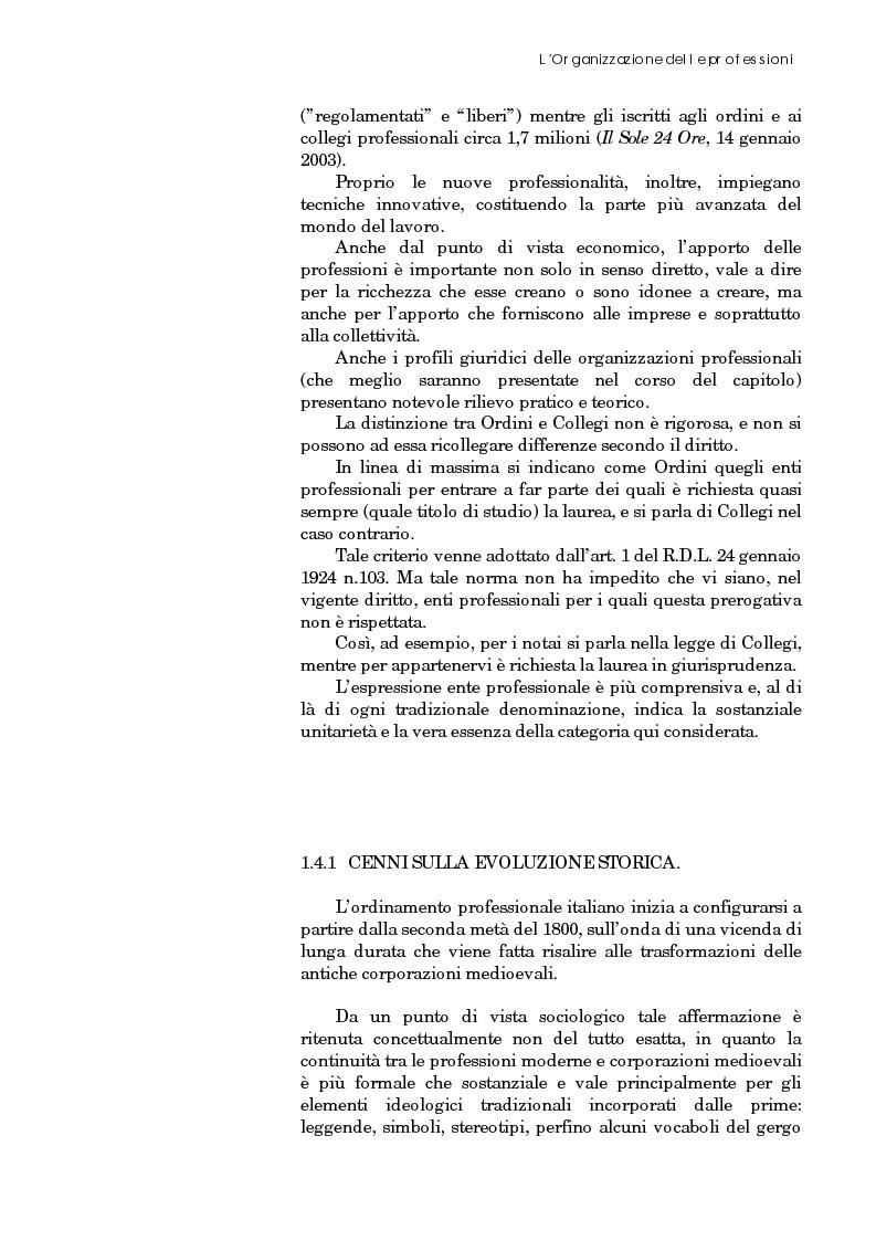 Anteprima della tesi: Riforma degli ordini e specificità degli architetti, Pagina 13