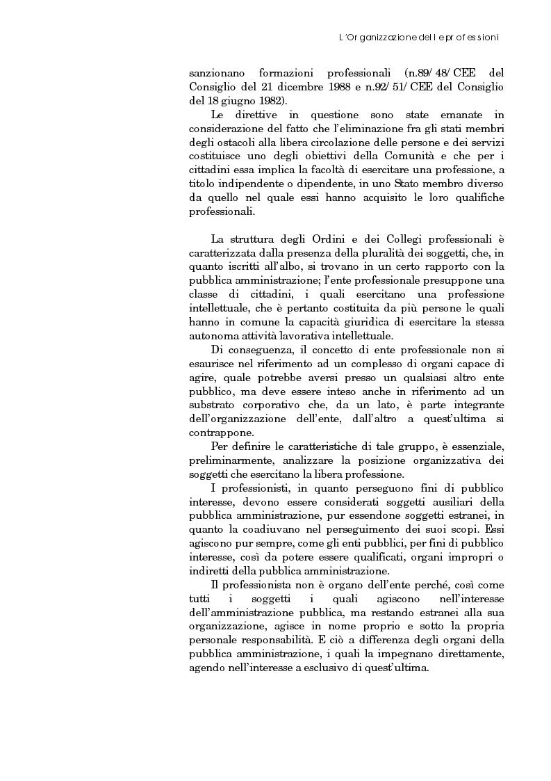 Anteprima della tesi: Riforma degli ordini e specificità degli architetti, Pagina 16