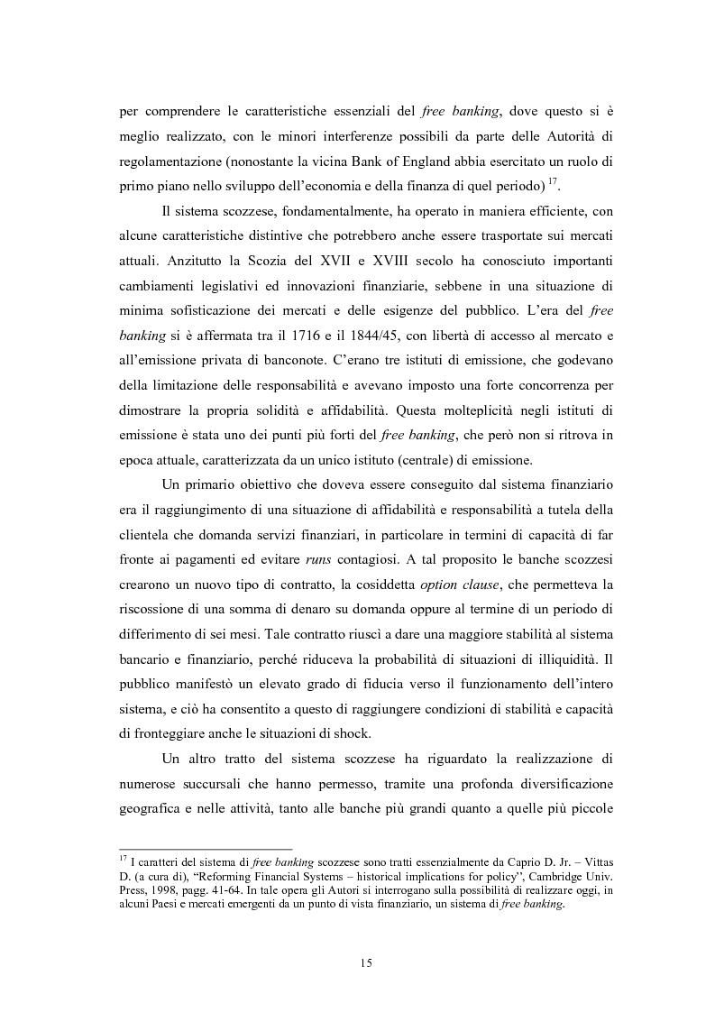 Anteprima della tesi: Controlli di vigilanza e sviluppo dei conglomerati finanziari, Pagina 14