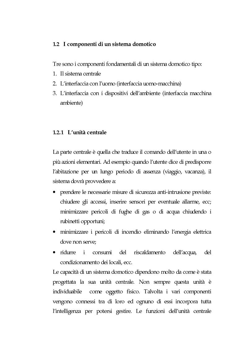 Anteprima della tesi: Domotica: prospettive di diffusione e impatti di una possibile rivoluzione e il punto di vista delle aziende, Pagina 10