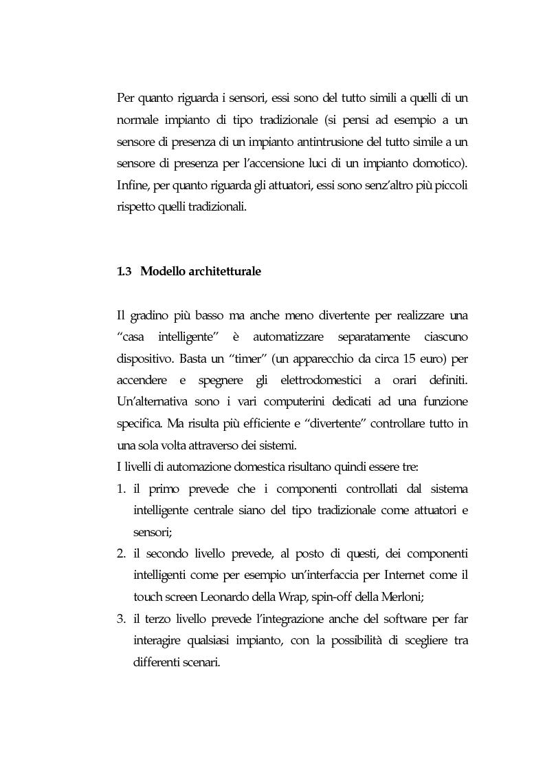 Anteprima della tesi: Domotica: prospettive di diffusione e impatti di una possibile rivoluzione e il punto di vista delle aziende, Pagina 15