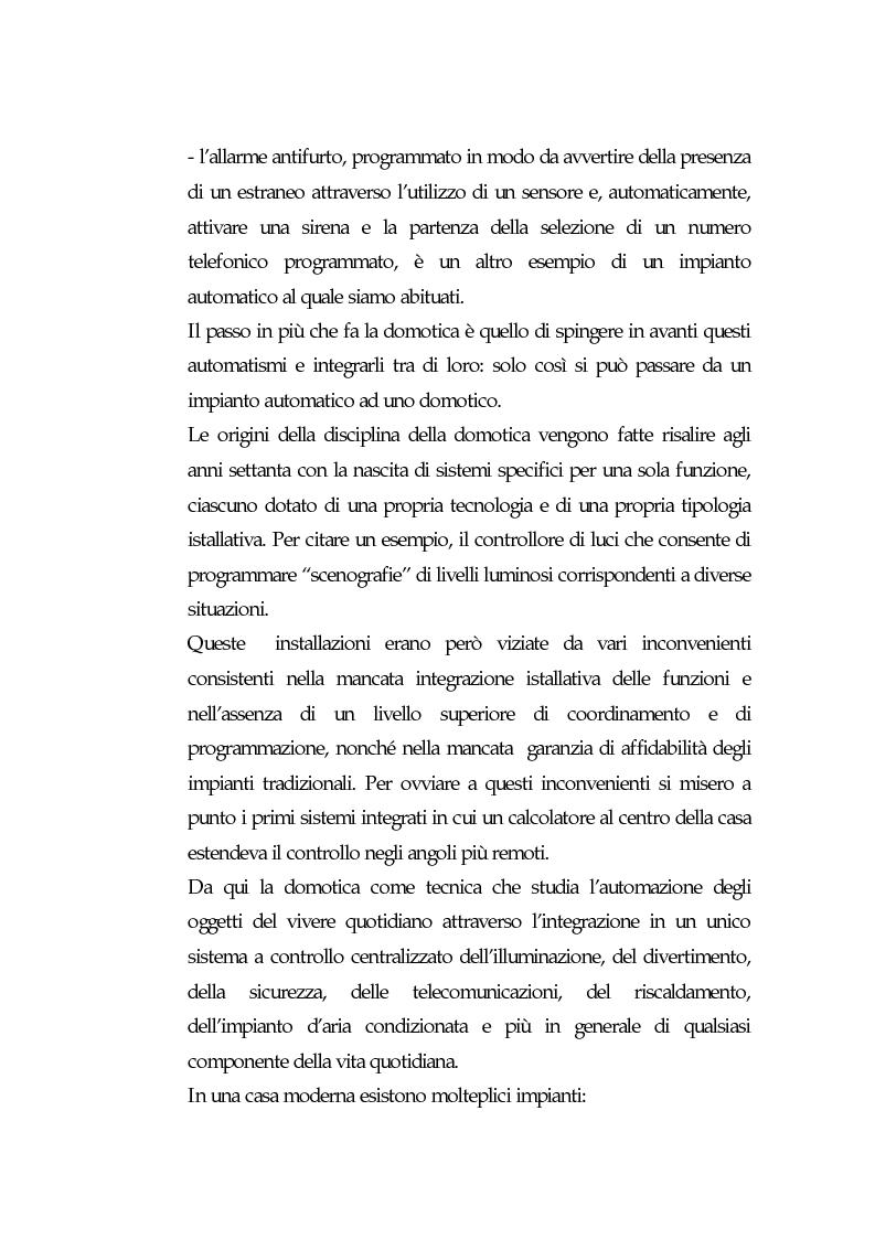 Anteprima della tesi: Domotica: prospettive di diffusione e impatti di una possibile rivoluzione e il punto di vista delle aziende, Pagina 6