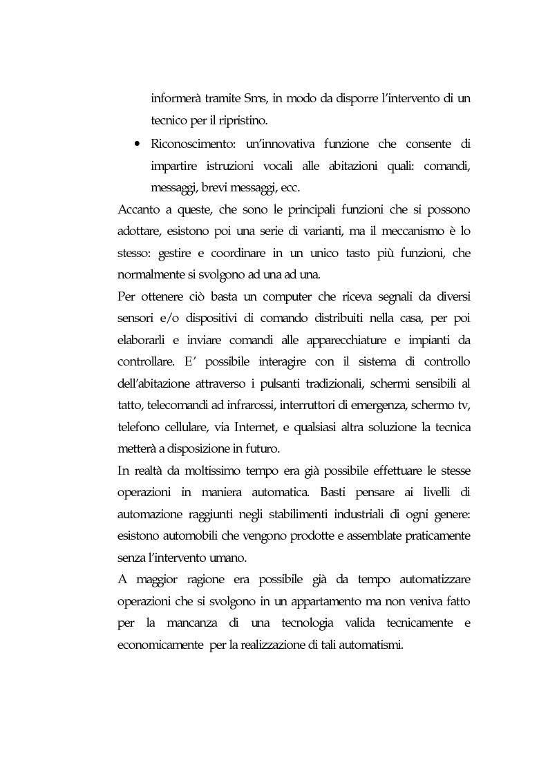 Anteprima della tesi: Domotica: prospettive di diffusione e impatti di una possibile rivoluzione e il punto di vista delle aziende, Pagina 9