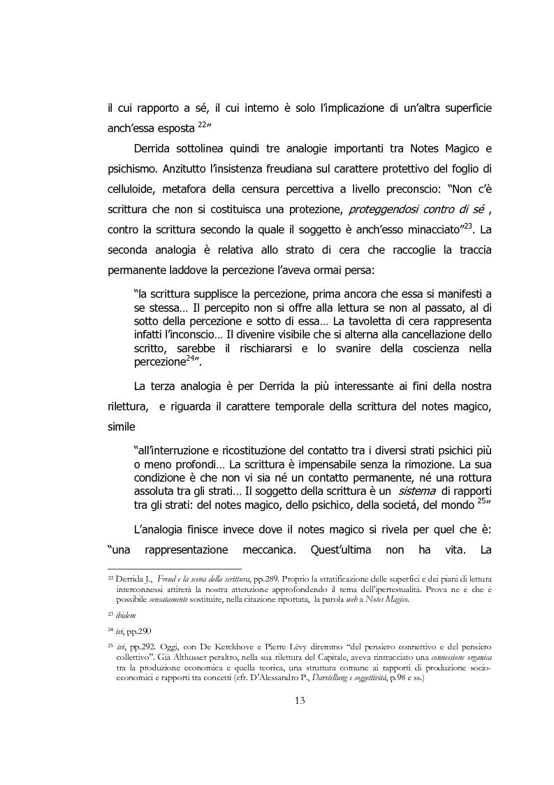 Anteprima della tesi: Ipertesto, metafora di pensiero, Pagina 13