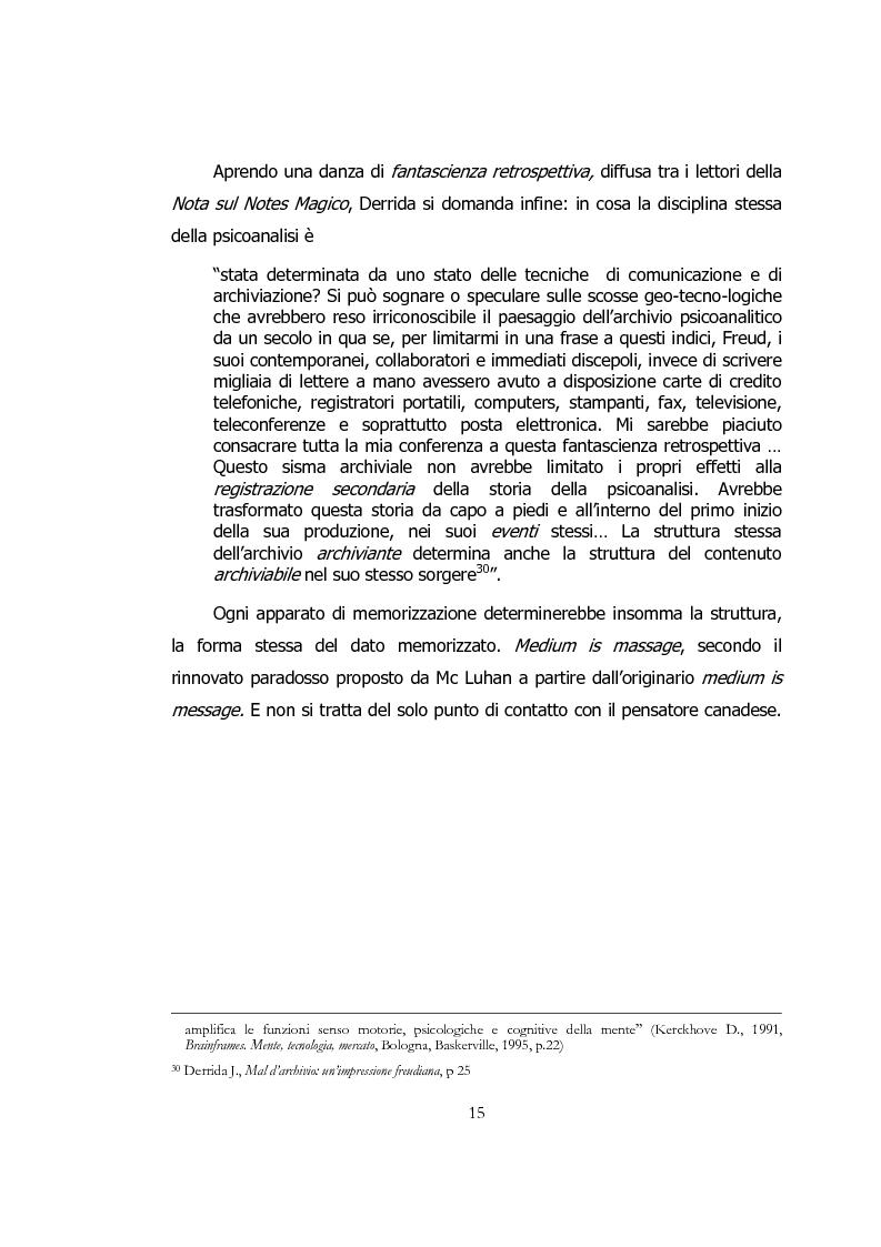 Anteprima della tesi: Ipertesto, metafora di pensiero, Pagina 15