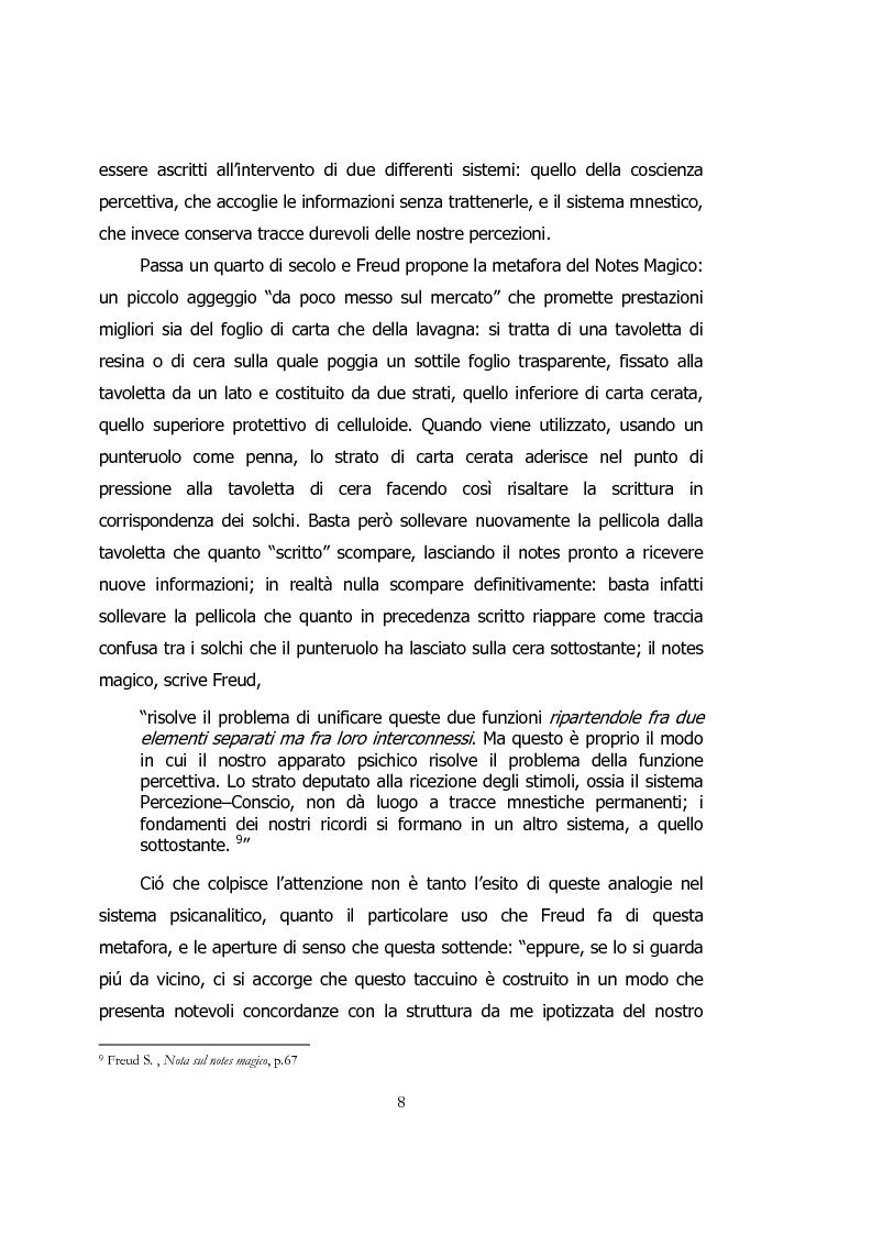 Anteprima della tesi: Ipertesto, metafora di pensiero, Pagina 8