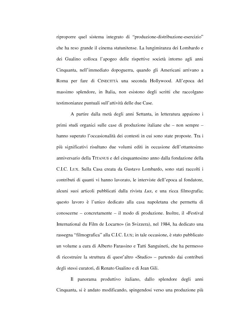 Anteprima della tesi: Lontano da Hollywood: il caso Fandango. Un modo di produzione del cinema italiano., Pagina 2