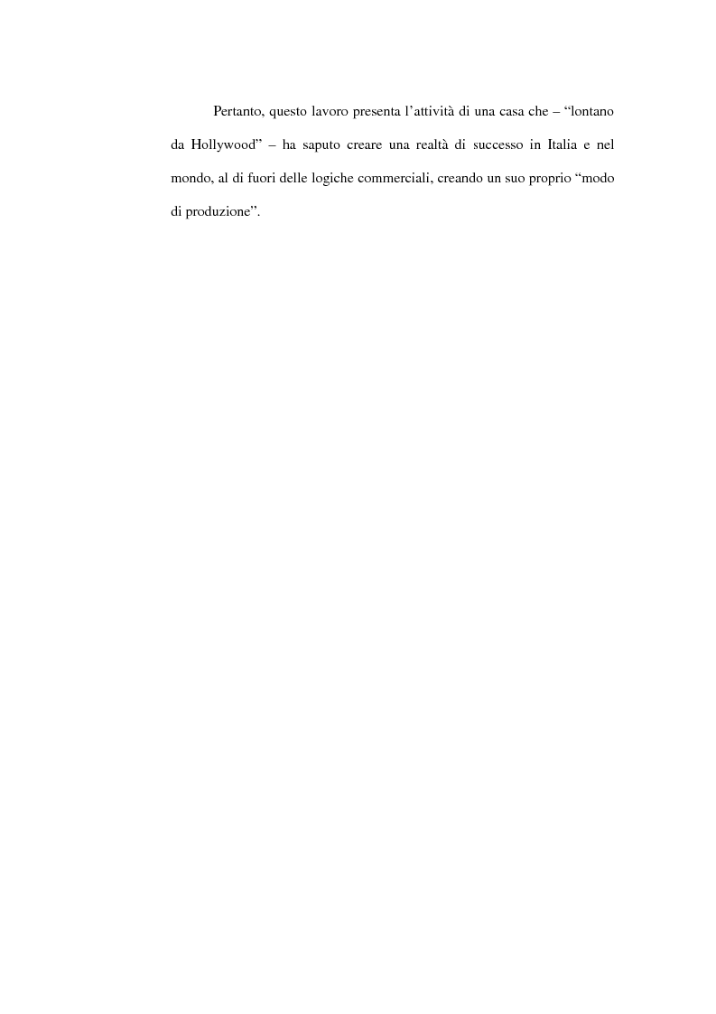 Anteprima della tesi: Lontano da Hollywood: il caso Fandango. Un modo di produzione del cinema italiano., Pagina 5