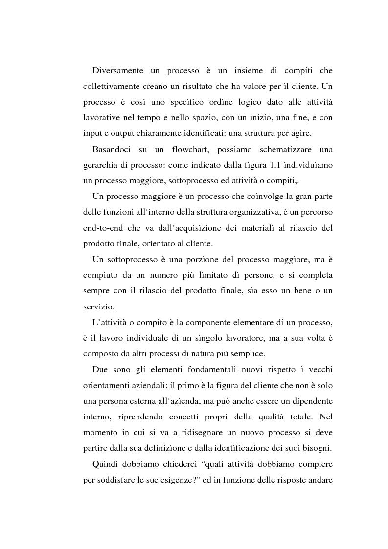 Anteprima della tesi: Gli strumenti di visual modeling come ponte tra progettazione organizzativa e progettazione informatica, Pagina 10