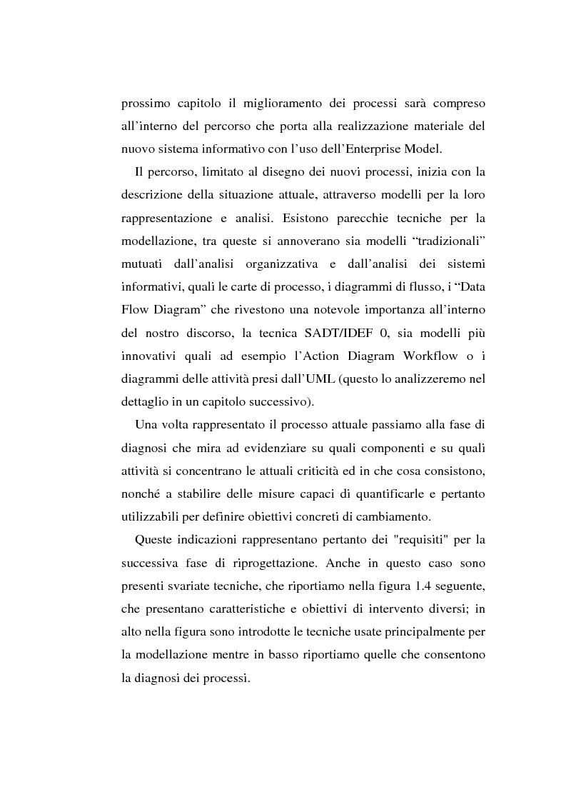 Anteprima della tesi: Gli strumenti di visual modeling come ponte tra progettazione organizzativa e progettazione informatica, Pagina 15
