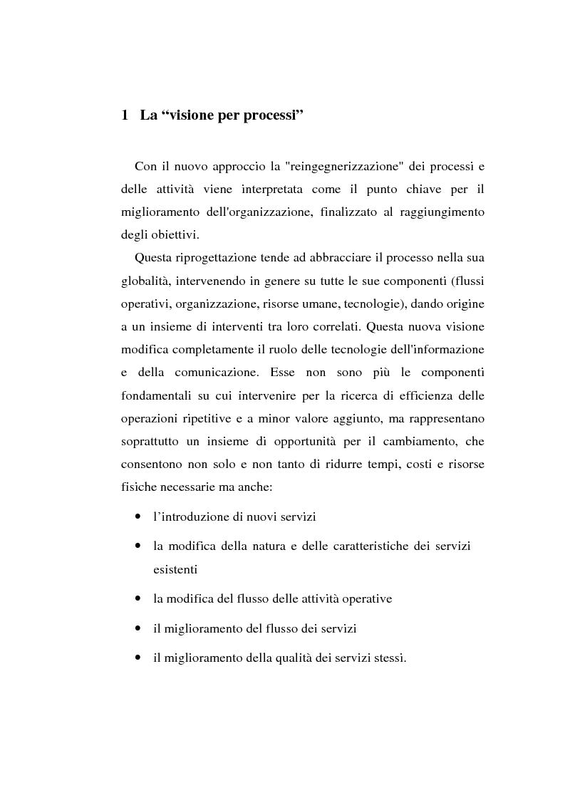 Anteprima della tesi: Gli strumenti di visual modeling come ponte tra progettazione organizzativa e progettazione informatica, Pagina 7