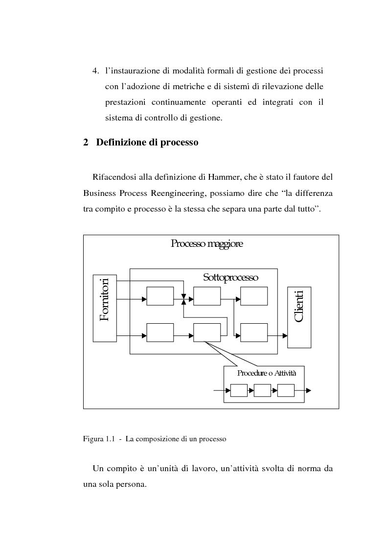 Anteprima della tesi: Gli strumenti di visual modeling come ponte tra progettazione organizzativa e progettazione informatica, Pagina 9
