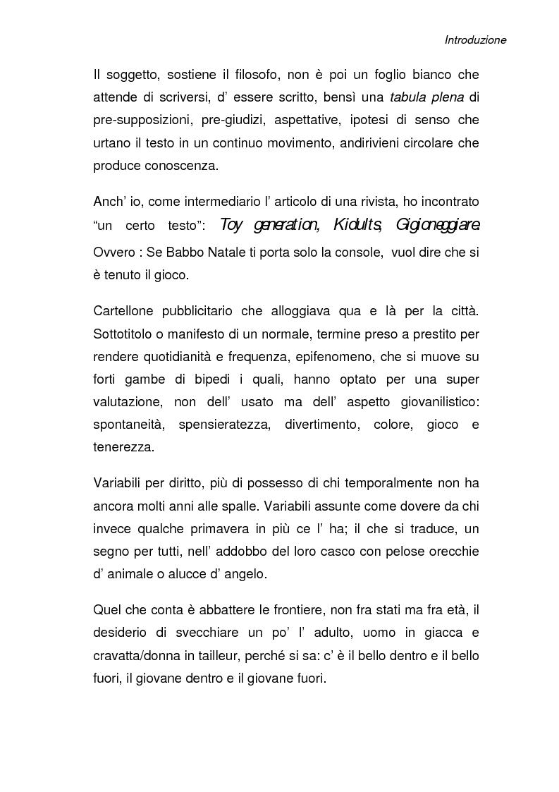 Anteprima della tesi: Toy generation: riflessioni psicologiche, Pagina 2