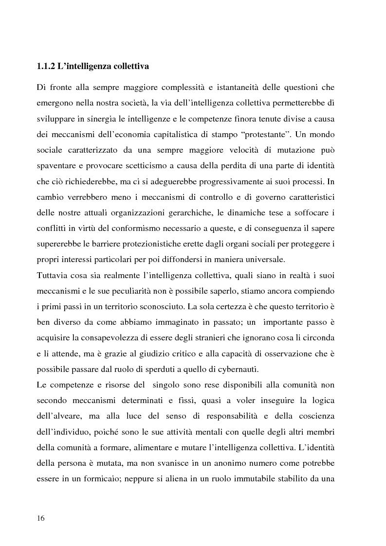 Anteprima della tesi: Il Peer-to-Peer e la rivoluzione della network society, Pagina 15