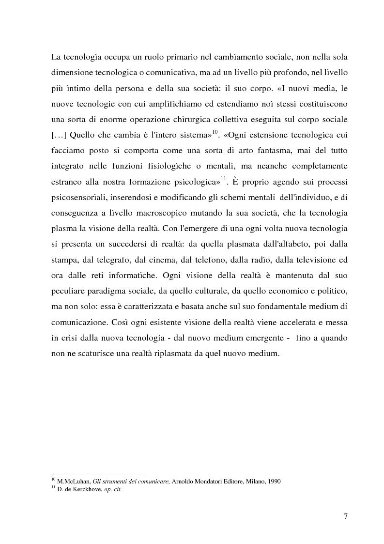 Anteprima della tesi: Il Peer-to-Peer e la rivoluzione della network society, Pagina 6