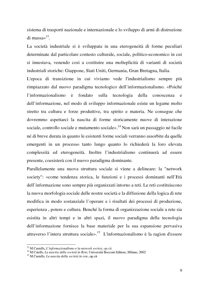 Anteprima della tesi: Il Peer-to-Peer e la rivoluzione della network society, Pagina 8