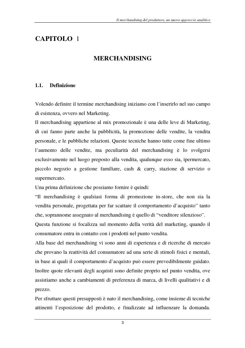 Anteprima della tesi: Il marketing del largo consumo: la multinazionale Coca Cola, Pagina 1