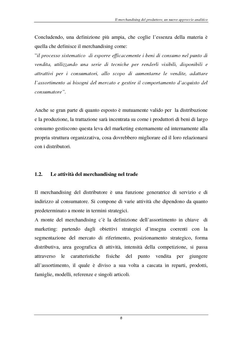 Anteprima della tesi: Il marketing del largo consumo: la multinazionale Coca Cola, Pagina 6