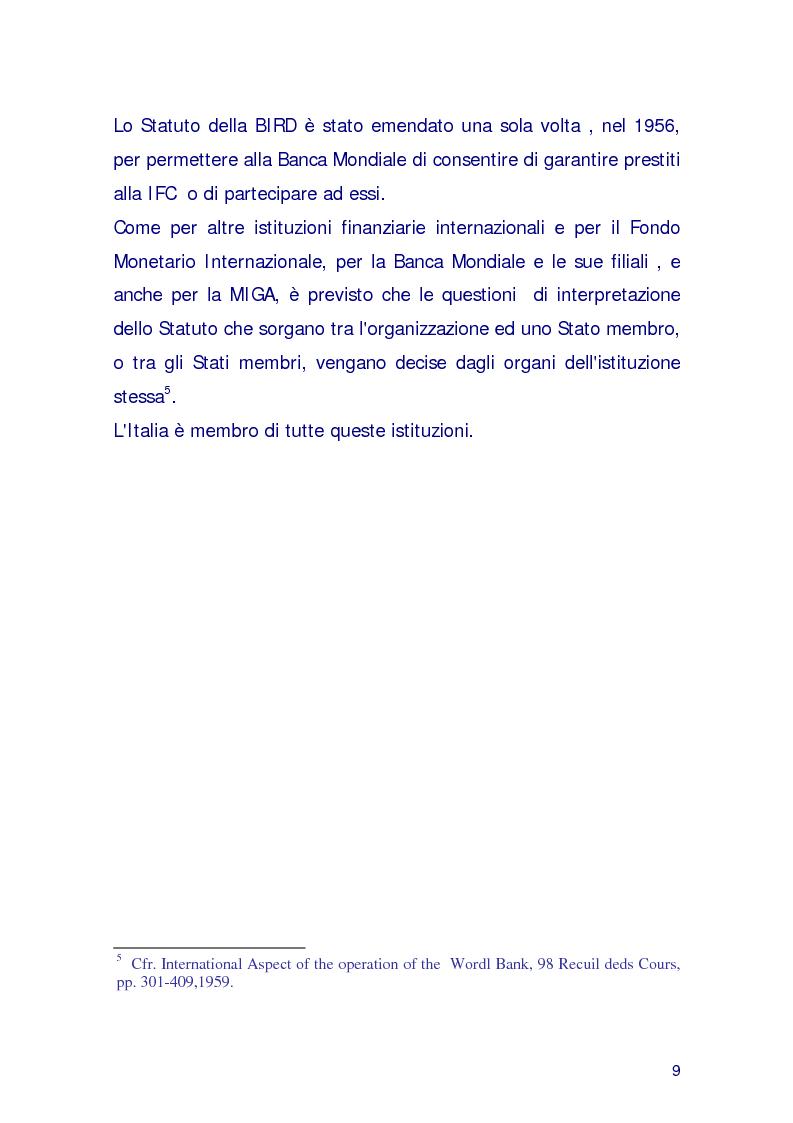 Anteprima della tesi: La Miga e la risoluzione delle controversie, Pagina 6