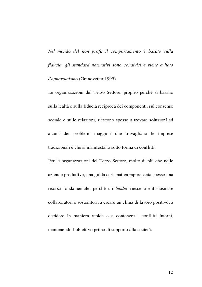 Anteprima della tesi: La sfida del terzo settore tra stato e mercato, Pagina 10