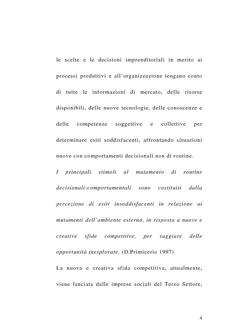 Anteprima della tesi: La sfida del terzo settore tra stato e mercato, Pagina 2