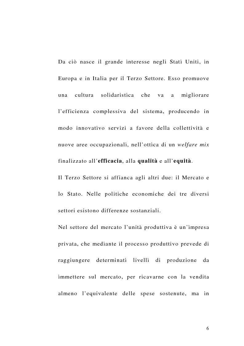 Anteprima della tesi: La sfida del terzo settore tra stato e mercato, Pagina 4