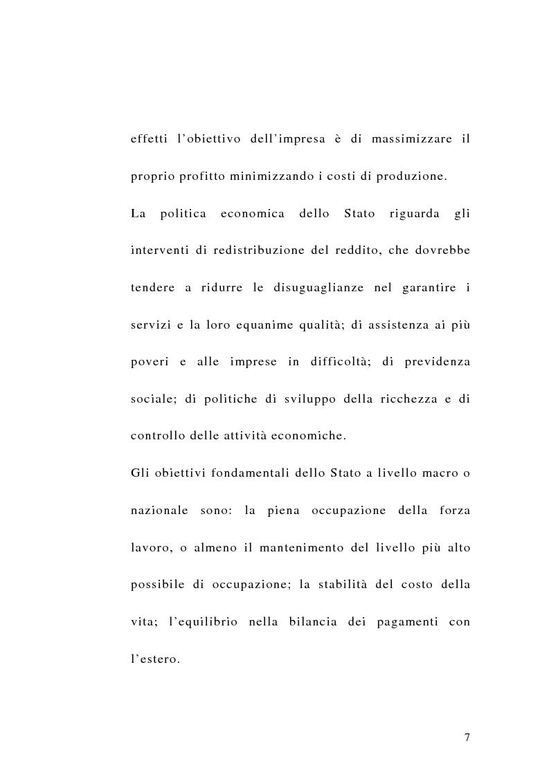Anteprima della tesi: La sfida del terzo settore tra stato e mercato, Pagina 5