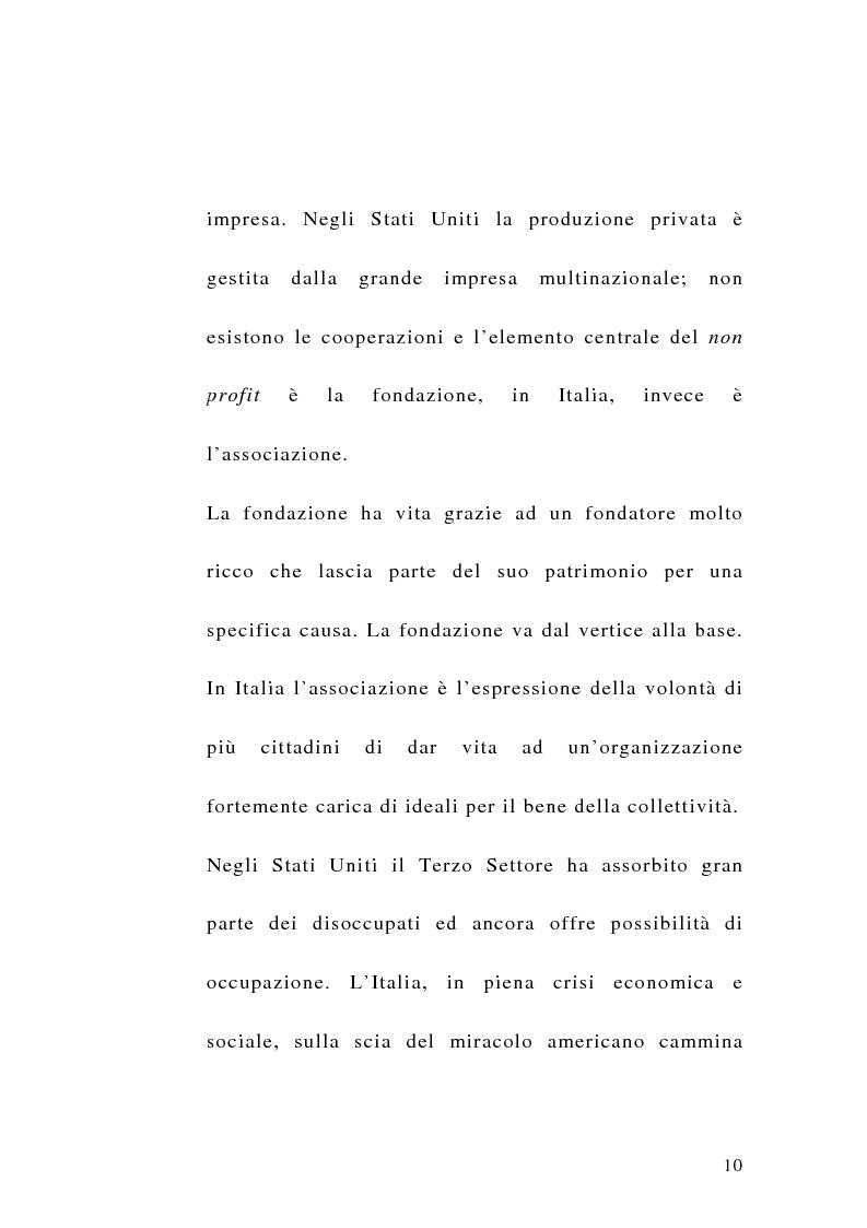 Anteprima della tesi: La sfida del terzo settore tra stato e mercato, Pagina 8