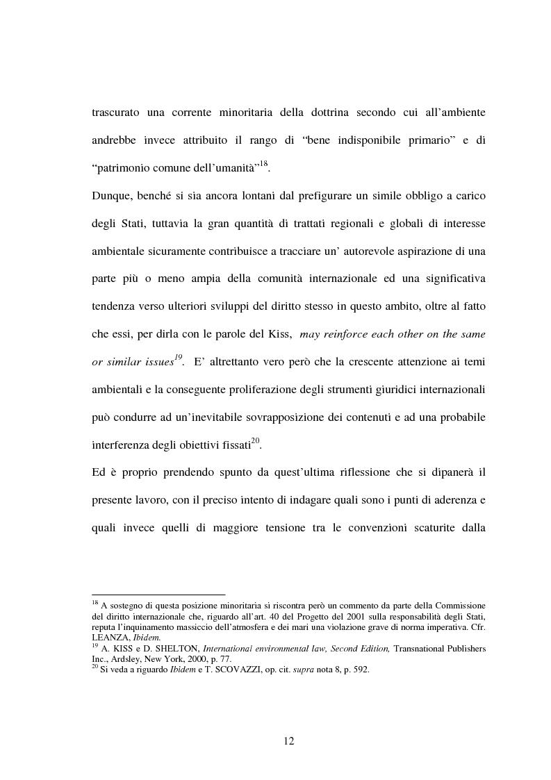 Anteprima della tesi: Le Convenzioni di Rio ed il Protocollo di Kyoto: sinergie e questioni di compatibilità, Pagina 12