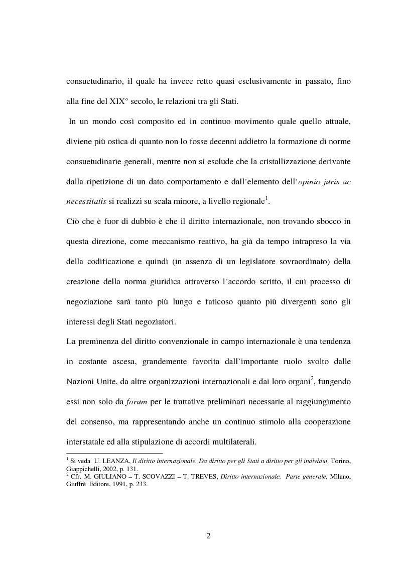 Anteprima della tesi: Le Convenzioni di Rio ed il Protocollo di Kyoto: sinergie e questioni di compatibilità, Pagina 2