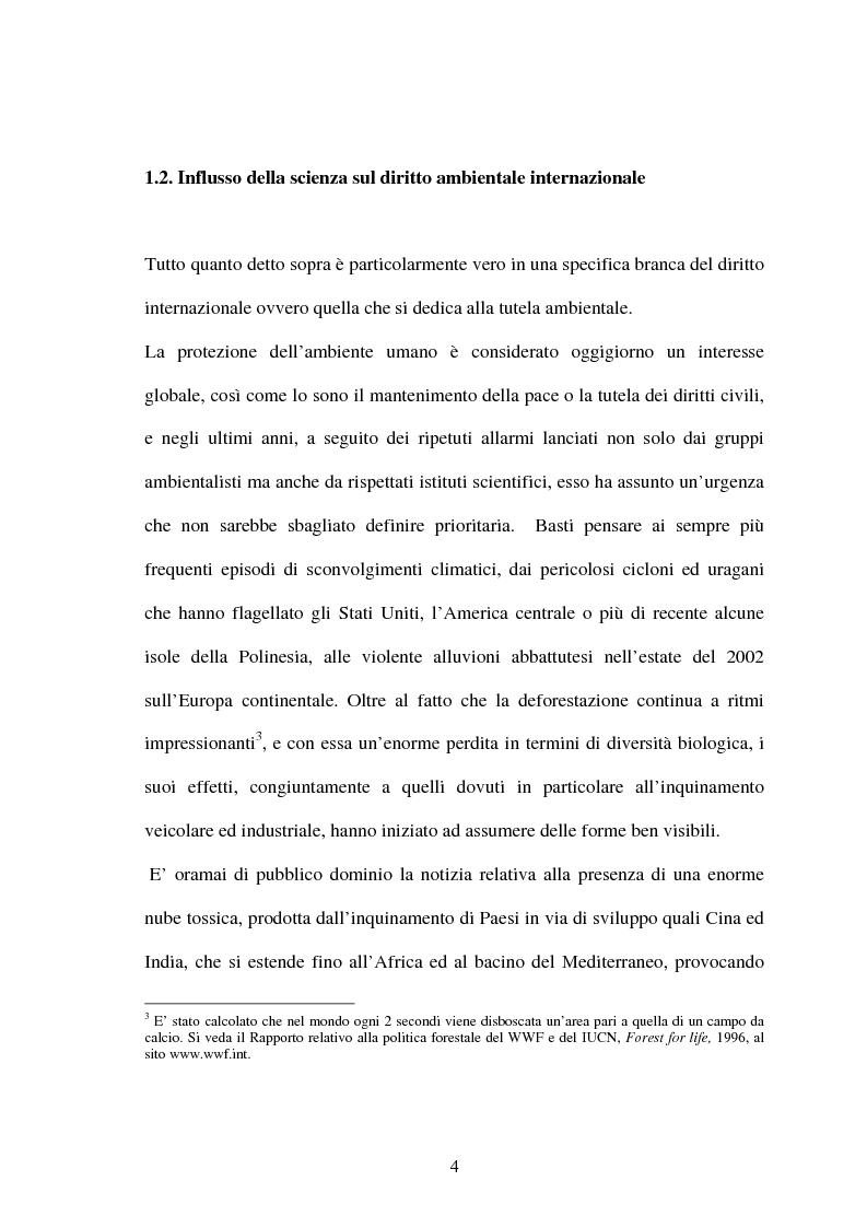 Anteprima della tesi: Le Convenzioni di Rio ed il Protocollo di Kyoto: sinergie e questioni di compatibilità, Pagina 4