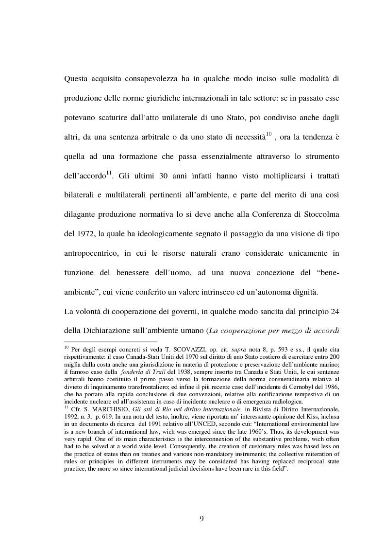 Anteprima della tesi: Le Convenzioni di Rio ed il Protocollo di Kyoto: sinergie e questioni di compatibilità, Pagina 9