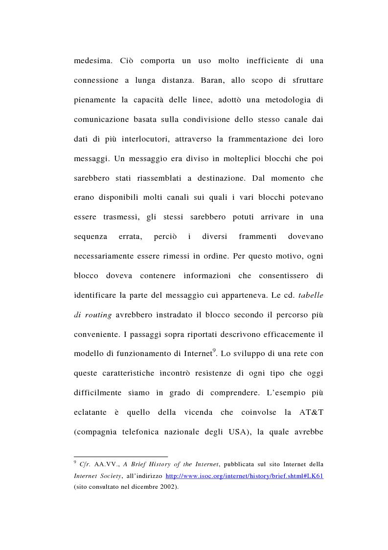 Anteprima della tesi: I rapporti tra file-sharing e diritto d'autore: aspetti nazionali ed internazionali, Pagina 12