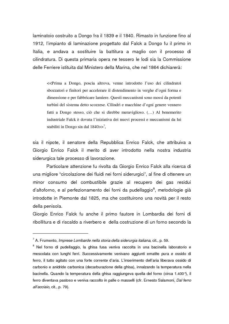 Anteprima della tesi: Quando l'acciaio è un affare di famiglia. Storia dei Falck, Pagina 11