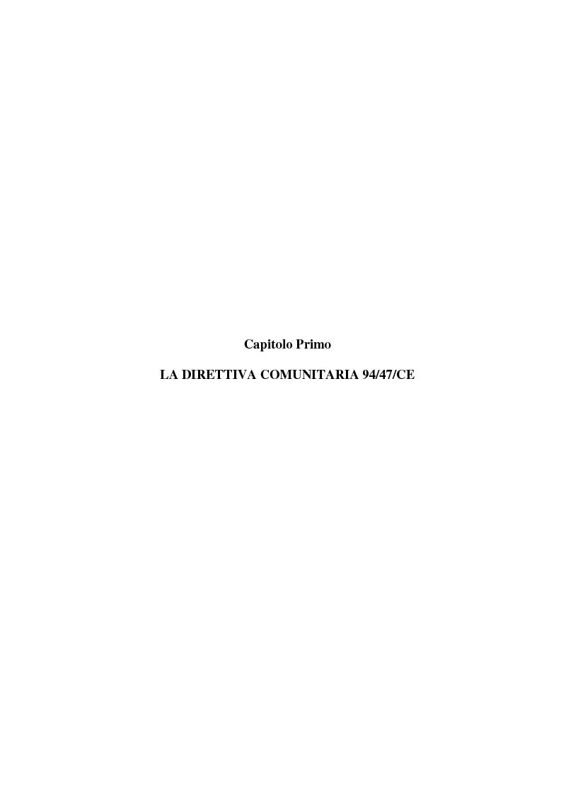 Anteprima della tesi: La multiproprietà: comparazione tra il diritto italiano ed il diritto spagnolo, Pagina 7