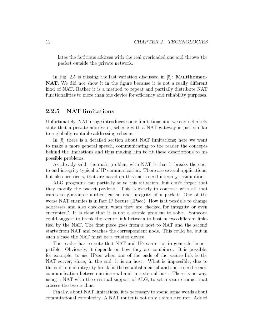 Anteprima della tesi: IP Mobility Support for Virtual Private Networks, Pagina 12