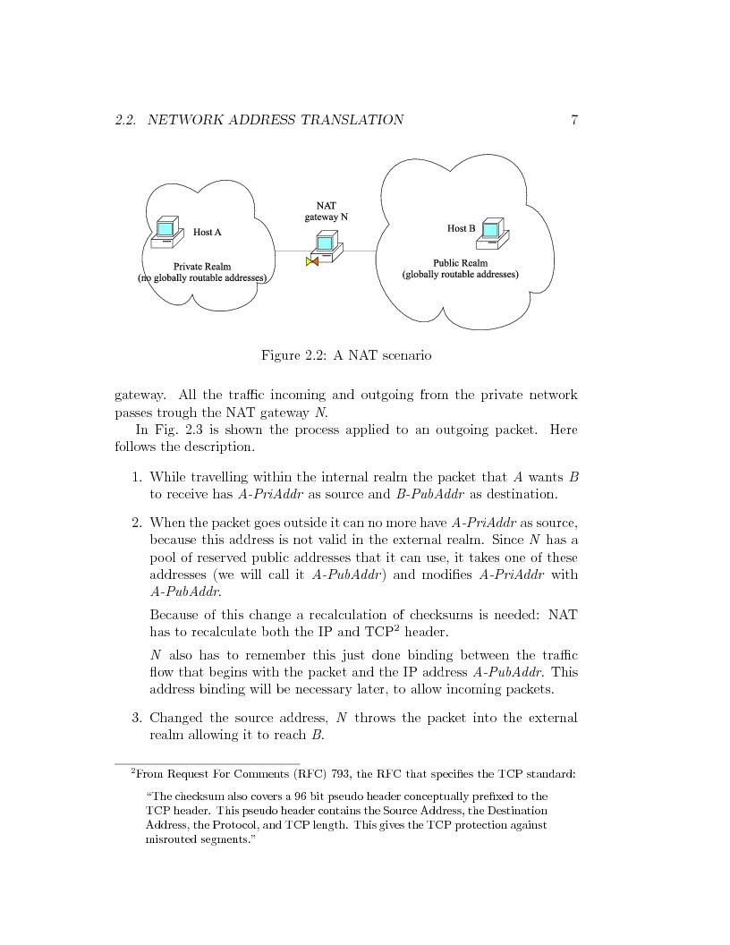 Anteprima della tesi: IP Mobility Support for Virtual Private Networks, Pagina 7