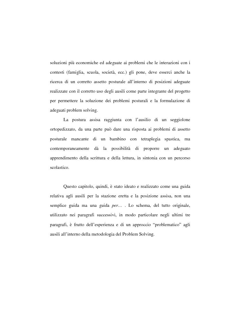 Anteprima della tesi: L'uso di posture corrette e posizioni adeguate nella gestione complessa ed articolata delle paralisi cerebrali infantili, Pagina 9