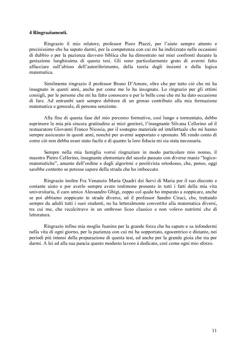 Anteprima della tesi: L'autoriferimento in teoria degli insiemi, Pagina 8