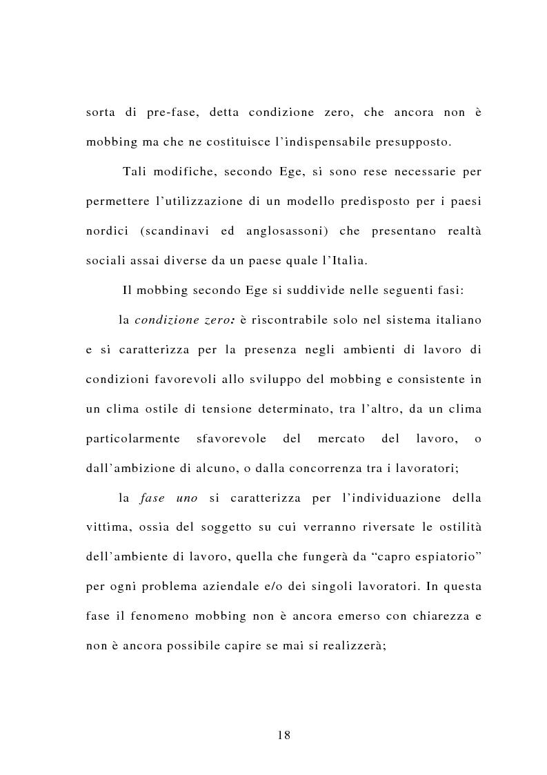 Anteprima della tesi: Il mobbing, Pagina 12
