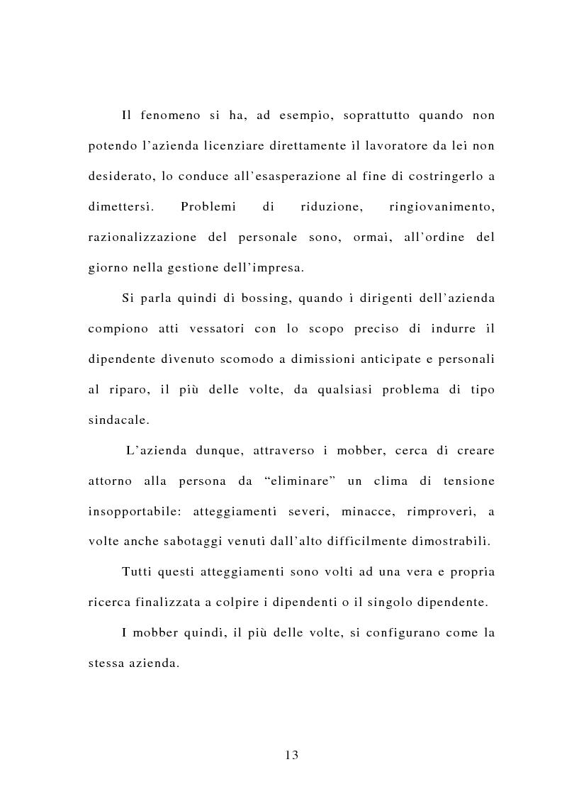 Anteprima della tesi: Il mobbing, Pagina 7