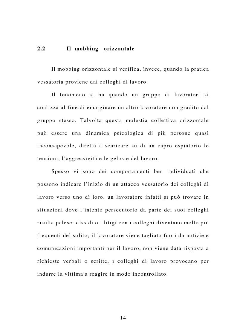 Anteprima della tesi: Il mobbing, Pagina 8