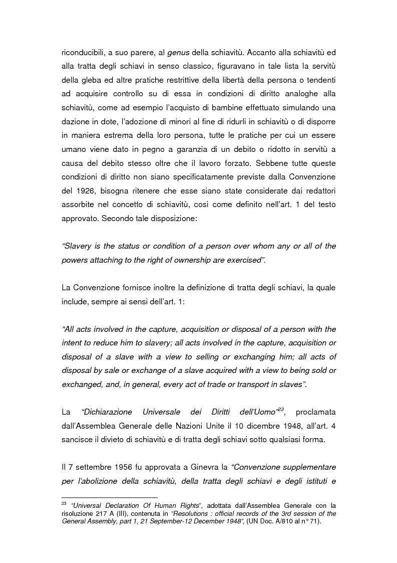 Anteprima della tesi: Il divieto internazionale di tratta degli esseri umani, Pagina 13