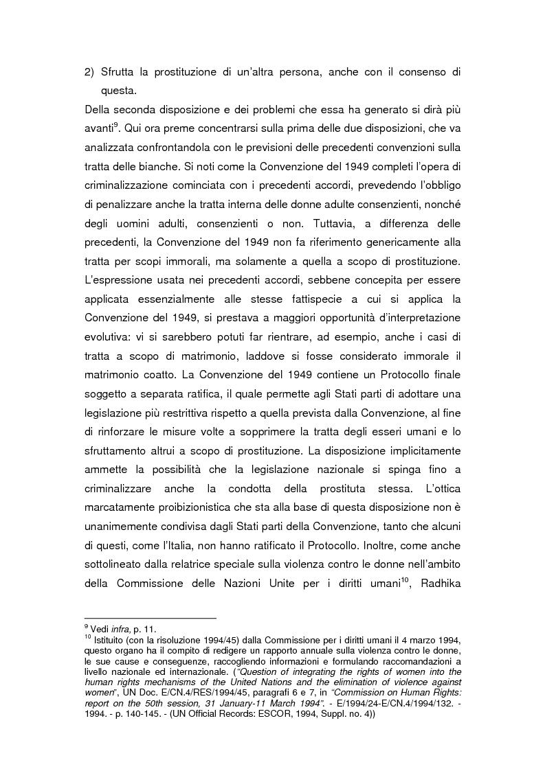 Anteprima della tesi: Il divieto internazionale di tratta degli esseri umani, Pagina 8