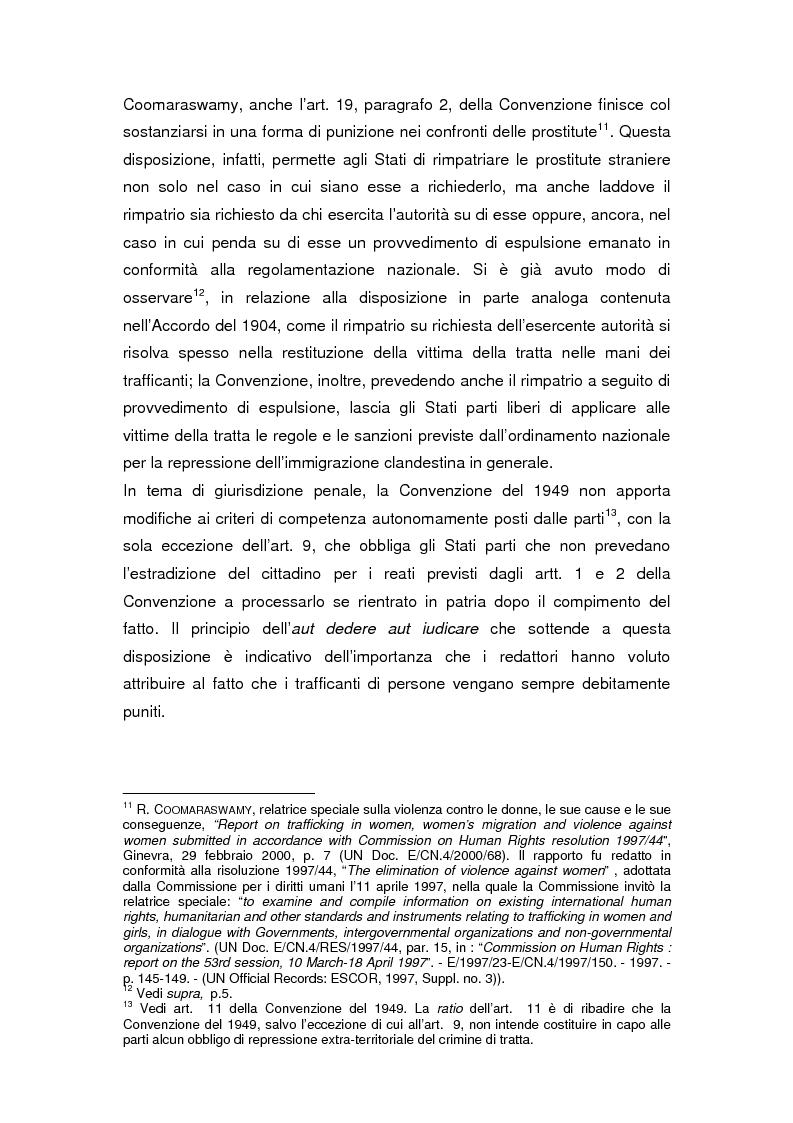 Anteprima della tesi: Il divieto internazionale di tratta degli esseri umani, Pagina 9