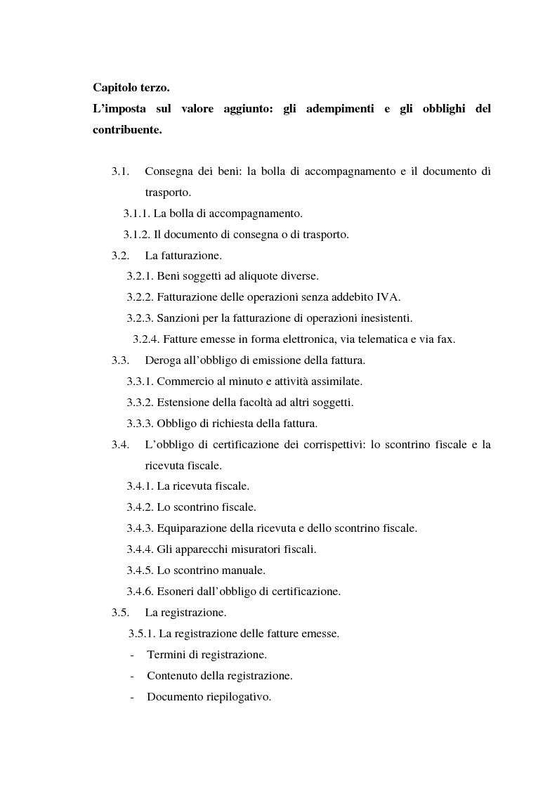 Indice della tesi: L'Iva negli enti locali: il caso del Comune di Ozieri, Pagina 4