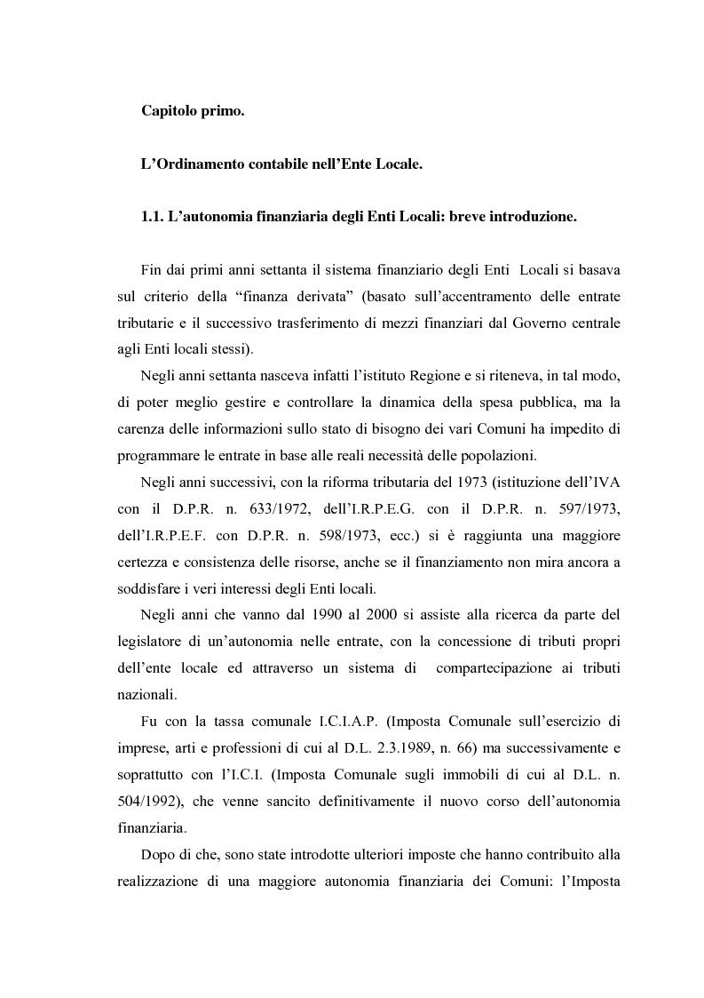 Anteprima della tesi: L'Iva negli enti locali: il caso del Comune di Ozieri, Pagina 3