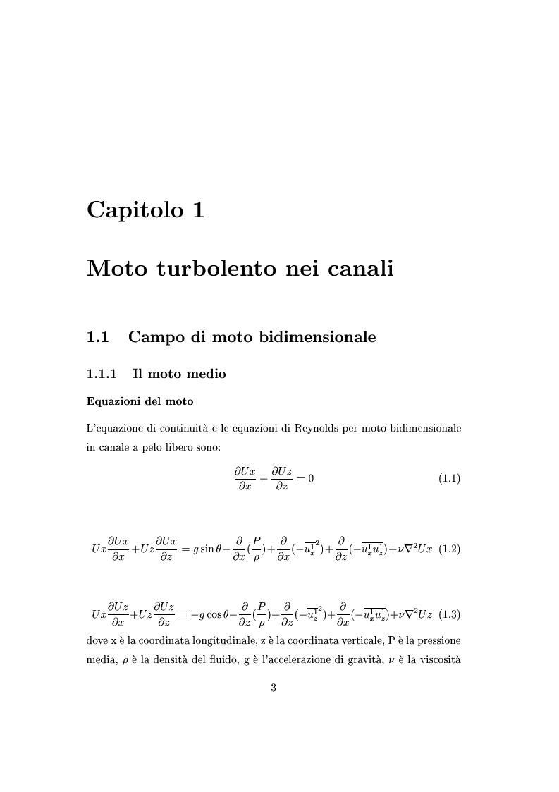 Anteprima della tesi: Indagini sperimentali sulla resistenza al moto prodotta da vegetazione di barena, Pagina 2